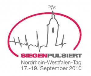 Logo des NRW Tag 2010 in Siegen