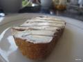 Nuss-Nougat-Creme und Frischkäse