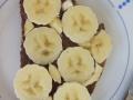 der Klassiker Nuss-Nougat-Creme und Bananen