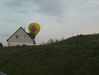 Heissluftballon in Geisweid