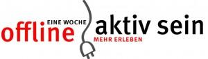 Logo von der Aktion offline aktiv sein
