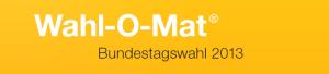 """""""Logo"""" vom Wahl-o-Mat zur Bundestagswahl 2013"""